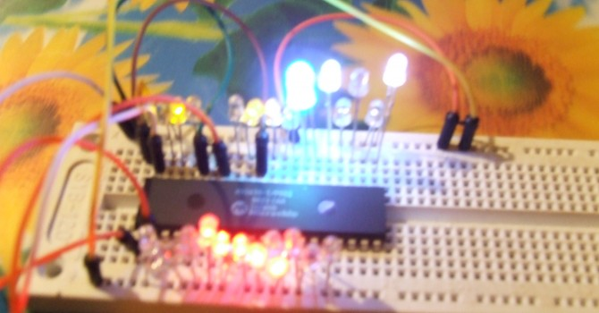 Upravljanje sa 32 LED diode, preko jednog čipa i samo tri pina arduina