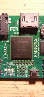 Doing ULX3ST FPGA board @home part2