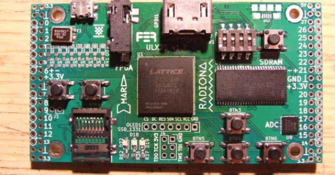 Doing ULX3ST FPGA board @home part2